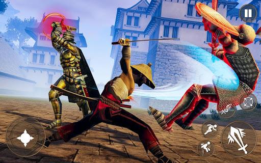 Code Triche guerrier ninja d'ombre - jeux de combat samourau00ef APK MOD screenshots 1