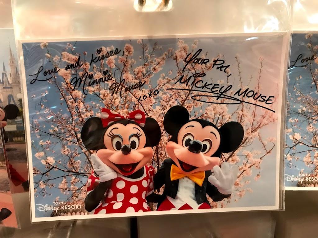2018ディズニーランド 春の桜グッズが可愛い 実写も着物ミニーちゃん