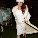 WWW.ENTSIMAGES.COM -     Lizzie Cundy    at  Macmillan Wonderland - launch party at Bodos Schloss London November 12th 2014Cancer charity's party to launch nationwide event taking place on December 5, which encourages people to throw après ski themed fundraising parties.                                                 Photo Mobis Photos/OIC 0203 174 1069
