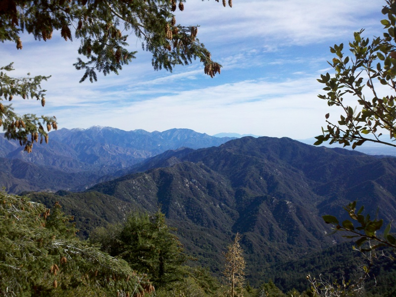 Mount Wilson • View of Mount Baldy