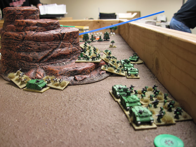 The fight for my baseline objective.