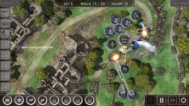 لعبة Defense Zone 3 HD النسخة المدفوعة مهكرة