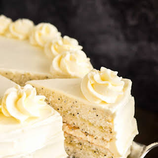 Lemon Poppy Seed Cake.