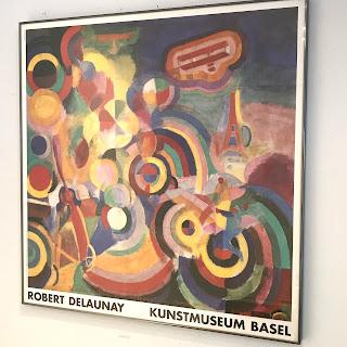 Robert Delauney Framed Exhibition Poster