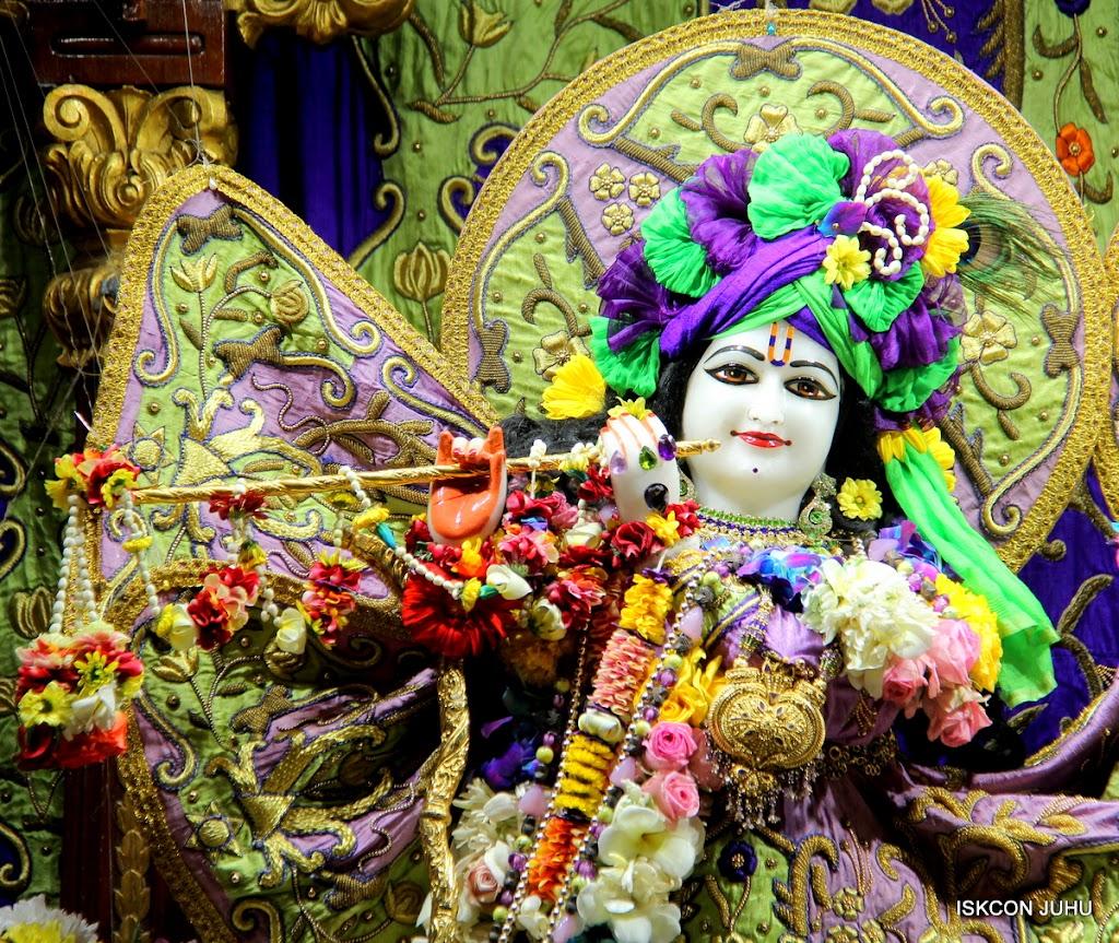 ISKCON Juhu Sringar Deity Darshan 11 Jan 2016  (11)
