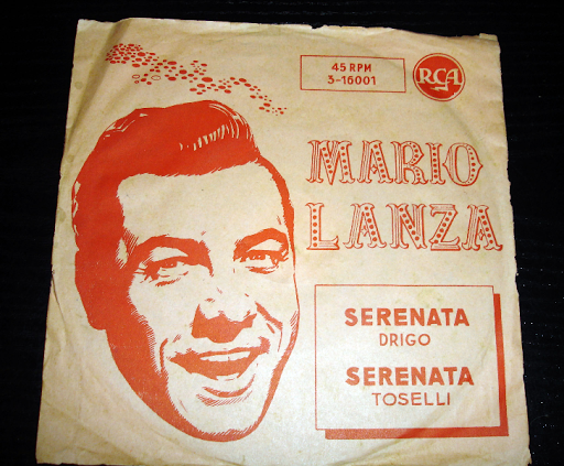 Mario Lanza ..single  año 1958