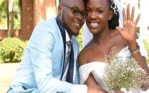Wrong WhatsApp call Ugandan lovers Beatrice Nambi and Aaron Musomba photo