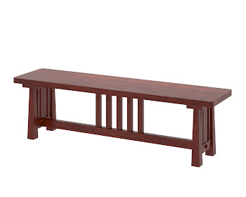 Eastern dining bench