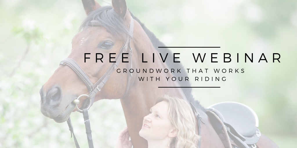 CLICK HERE to save your seat for the upcoming free live training on groundwork