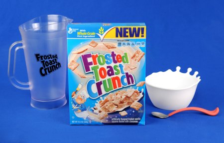 photo of frosted toast crunch prize pack