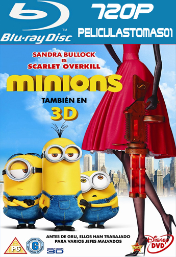 Los Minions (2015) (BRRip) BDRip m720p