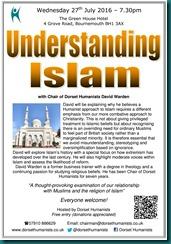 Understanding Islam 27 July 2016
