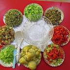 Colourful Salad Day (Playgroup) 3-2-2015