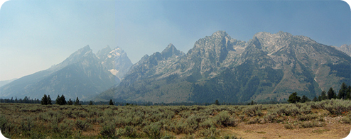 The Grand Tetons - August 2012