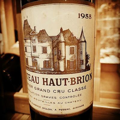 Chateau Haut-Brion 1955  label shot by ©LeDomduVin 2020