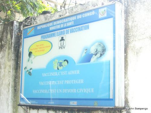 Inauguration d'un entrepôt de vaccins à Kinshasa