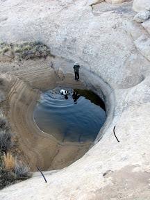 Water pool near Old Woman Wash