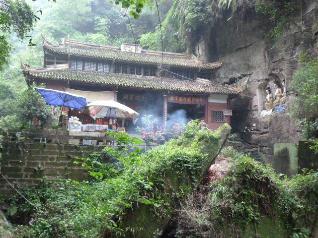 CHINE.SICHUAN.PING LE à 2 heures de Chengdu. Ravissant .Vallée des bambous - P1070623.JPG