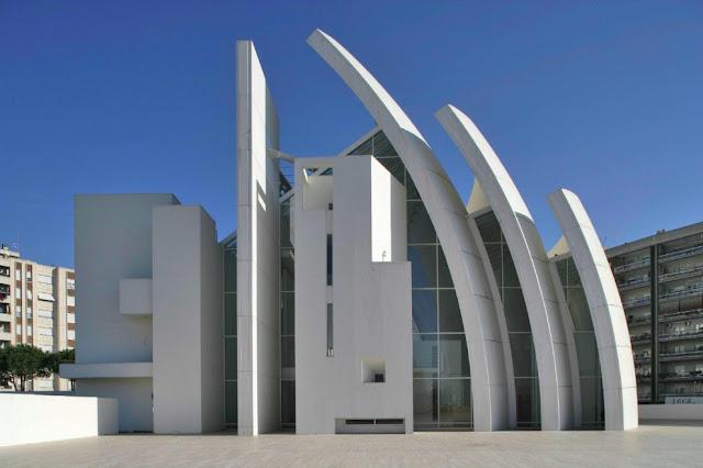 Dio Padre Misericordioso, Roma, de Richard Meier