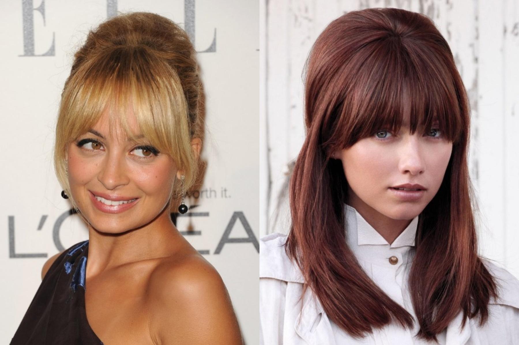 2018 Long Bangs Hairstyles For Women's - Haircuts Bangs 6