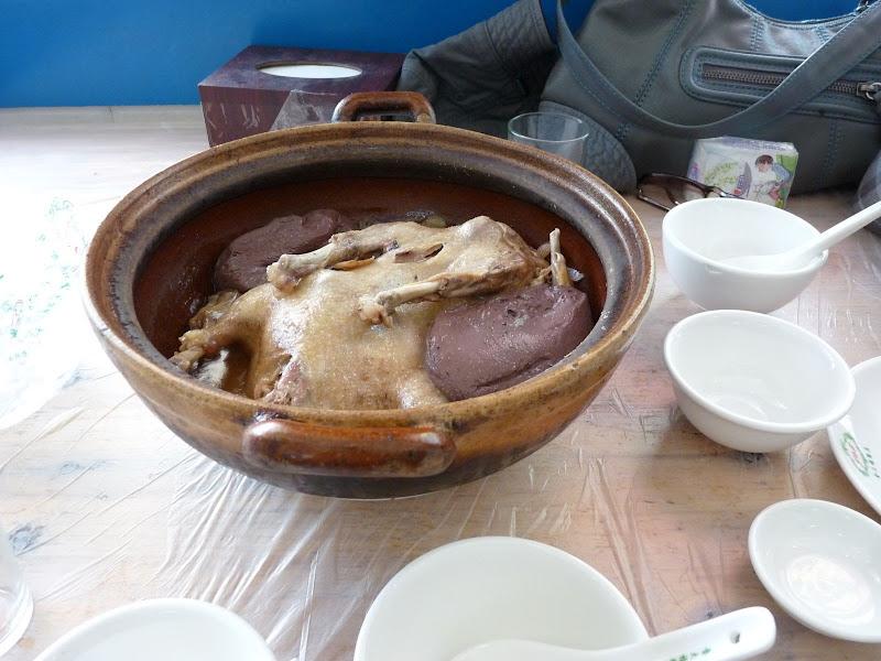 Quanzhou.canard et boudin, mama huhu, trop gras