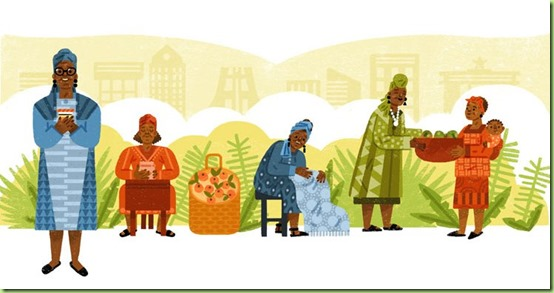 google-doodle Esther Afua Ocloo was a Ghanaian entrepreneur and pioneer of microlending.