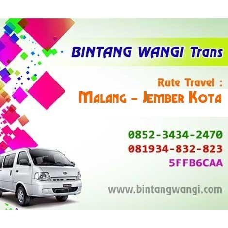 Jasa Travel Malang - Jember Kota