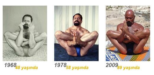 Gap go ong thay Yoga U100 tre nhu 50 tuoi