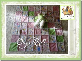 rag quilt Reis