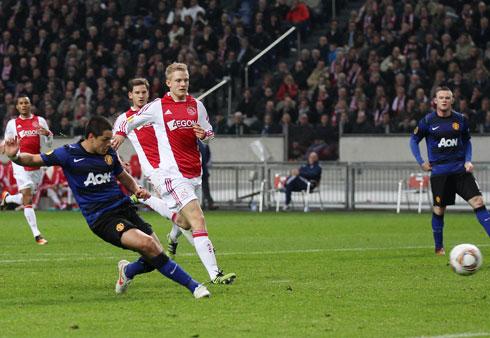 Javier Hernandez, Ajax - Manchester United