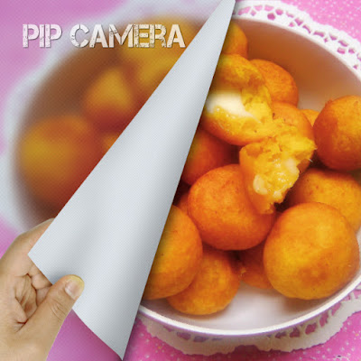 Bola - bola ubi Jalar/ sweet potato balls