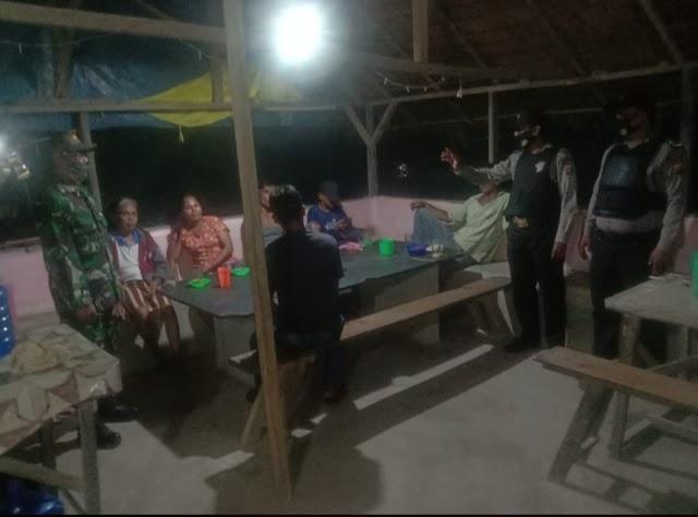 Himbau Disiplin Prokes, Polsek Bandar Khalifah Patroli Dialogis