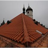 Oprava střechy kostela - 11.11.2014