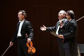 The three tenors in Singapore