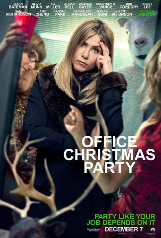 Office Christmas Party (2016) Full Movie Watch Online Free Download