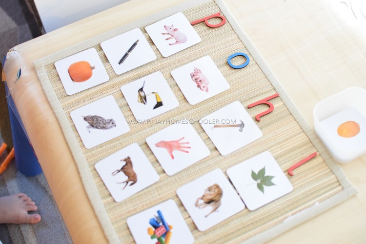 Alphabet Beginning Sound Sorting Cards