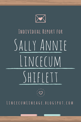Individual Report - SALShiflett