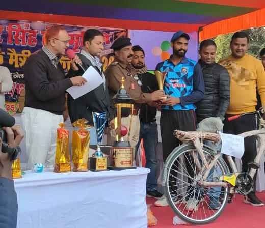क्रिकेट टूर्नामेंट: सारण की टीम ने आरा को 22 रनों से हराया, दूसरा मैच जमशेदपुर  बनाम शिवहर के बीच खेला जाएगा