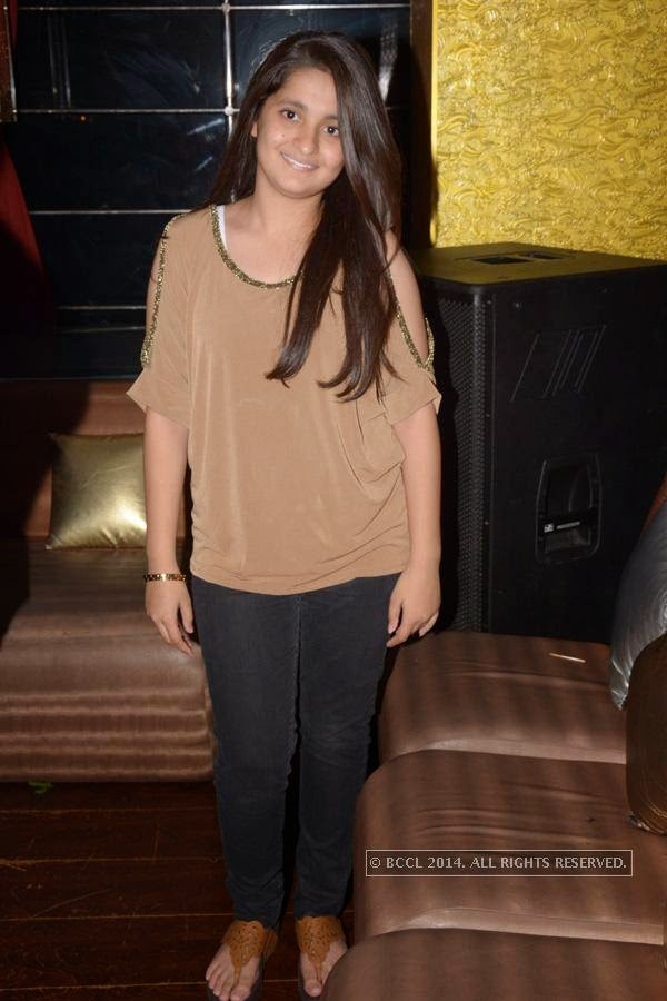 Riya Panjwani during Harjyot Singh Rawal, Atharva Vaidya and Dhruv Daga's birthday bash at M's Repose, in Nagpur.