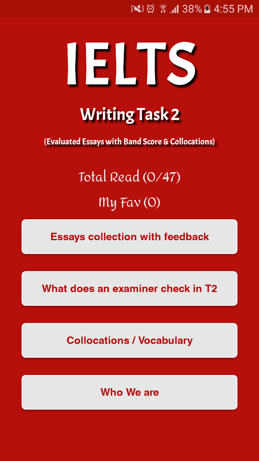 ielts essays feedback android apps on google play ielts essays feedback screenshot