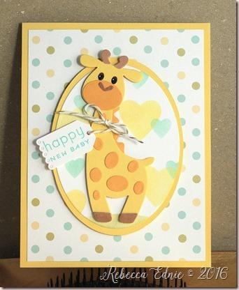 giraffe baby welcome