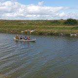 Kanotur på kanalen