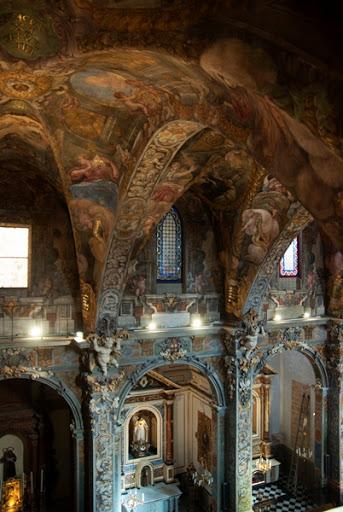 La iglesia fue bautizada como la 'Capilla Sixtina de Valencia'.