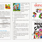 Night Camp on 10/04/2015