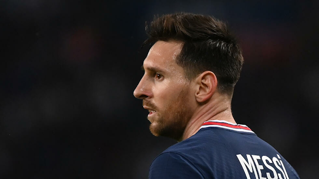 Messi has recovered from a knee injury and is expected to return for Paris Saint-Germain against Manchester City.
