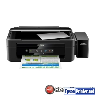 How to reset Epson L365 printer
