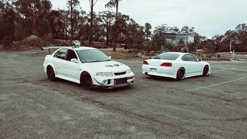 Pinoys Abroad EVO 6 x S15 Silvia in Australia