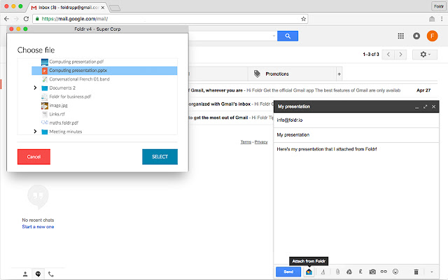 Foldr for Gmail