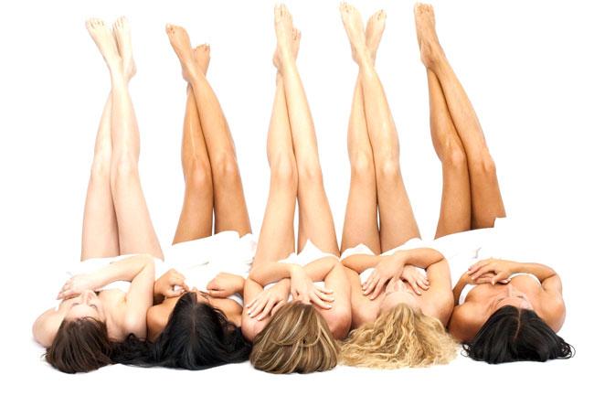 épilation définitive au laser des jambes chez la femme