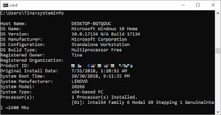 دروس cmd command prompt windows 10 - كيف تعرف إمكانيات الحاسوب الكمبيوتر